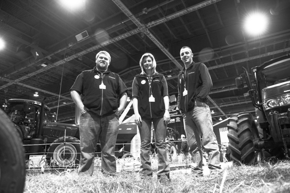 Penn State Interns at the 2014 PA Farm Show
