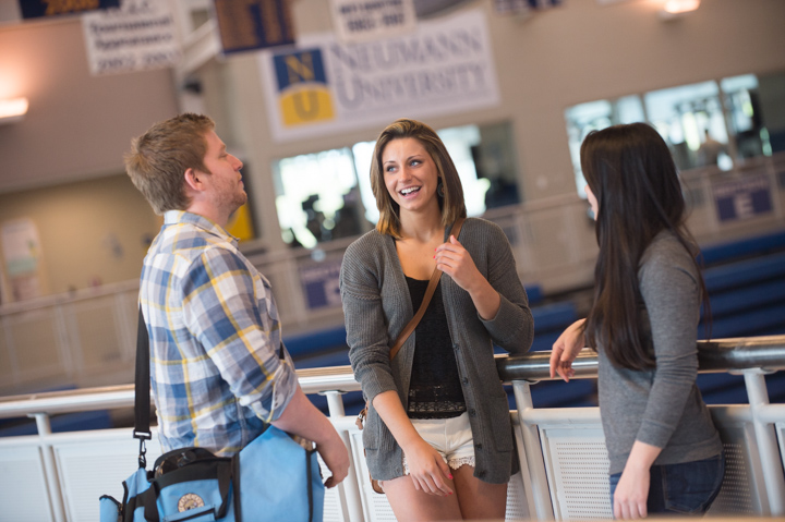 Admissions photography at Neumann University