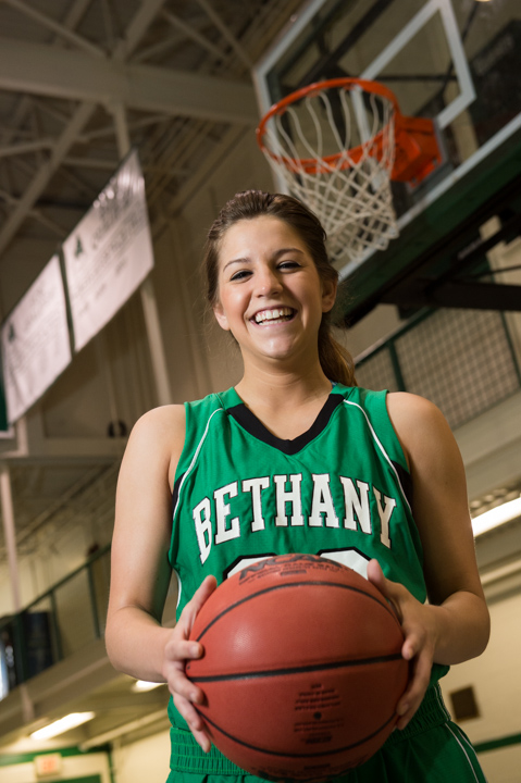 Higher education admissions photography at Bethany College