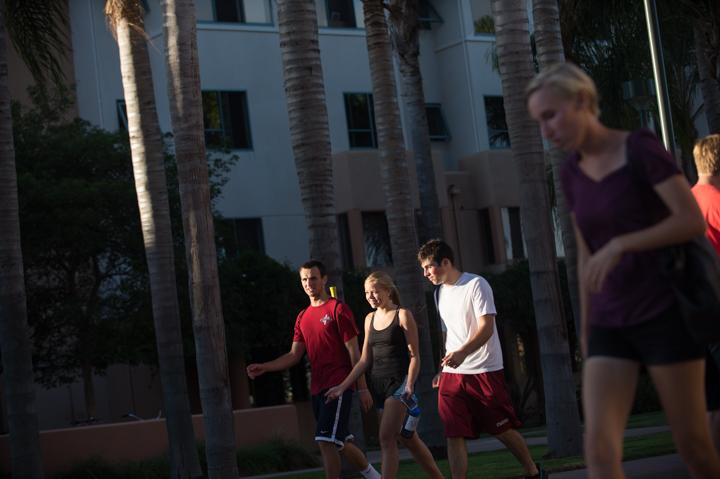 Loyola Marymount admissions photography