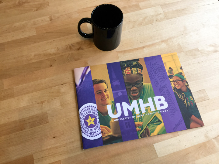 UMHB viewbook photography