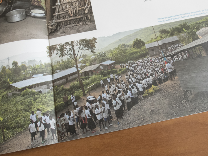 Education in the refugee camps of Eastern Congo