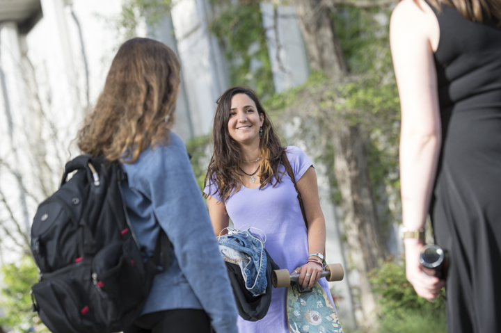 New university enrollment and admissions marketing photography by Matthew Lester