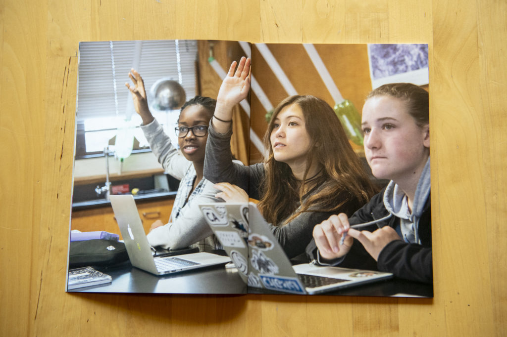 New published independent school admissions marketing photography by Matthew Lester