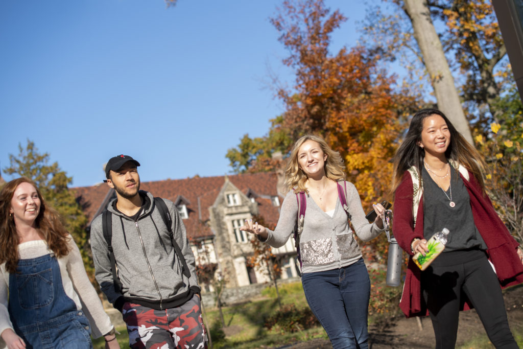 Higher education marketing photography